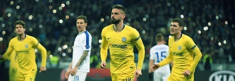 Chelsea cuartos de final Europa League