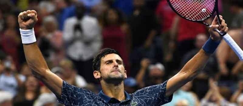 Djokovic US Open