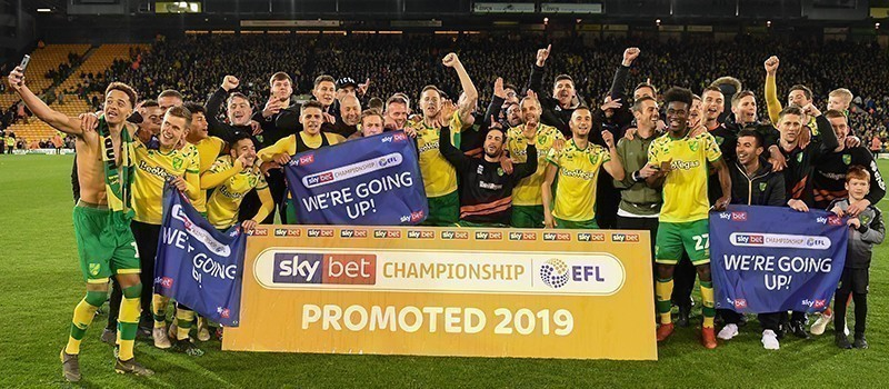championship winners 2019 - norwich