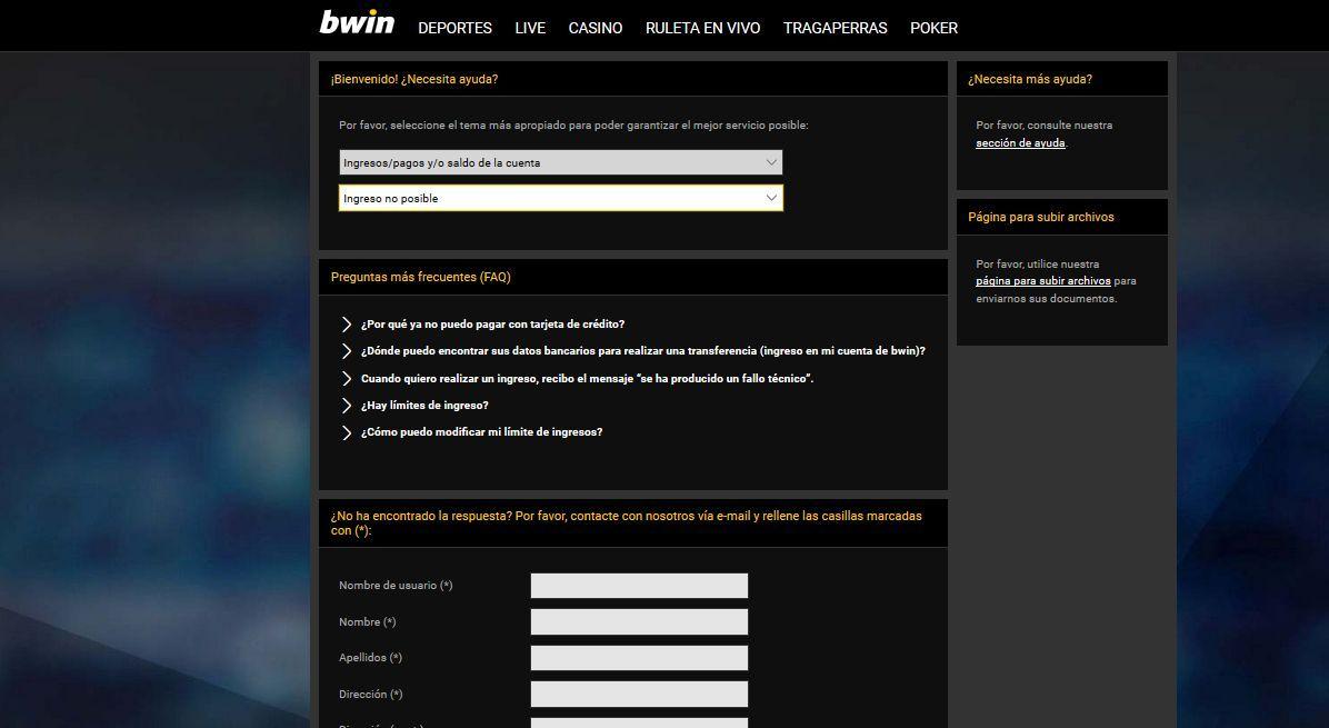 Apostar seguro con Bwin