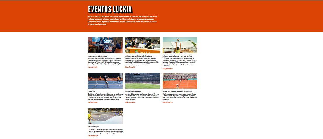 luckia eventos