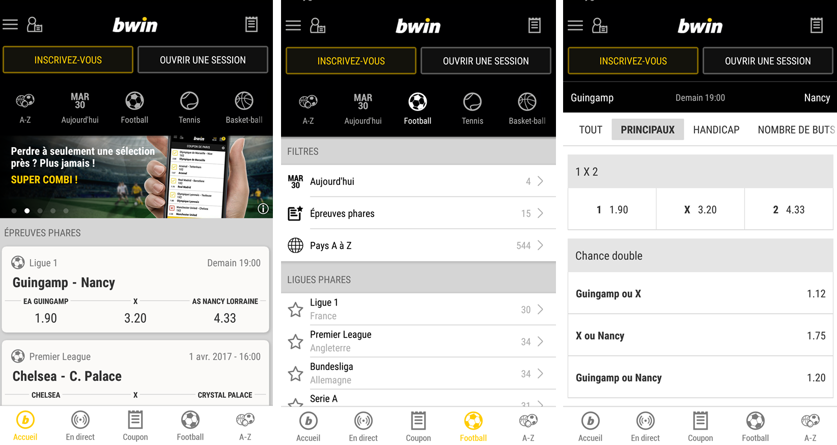 Avis Application Bwin