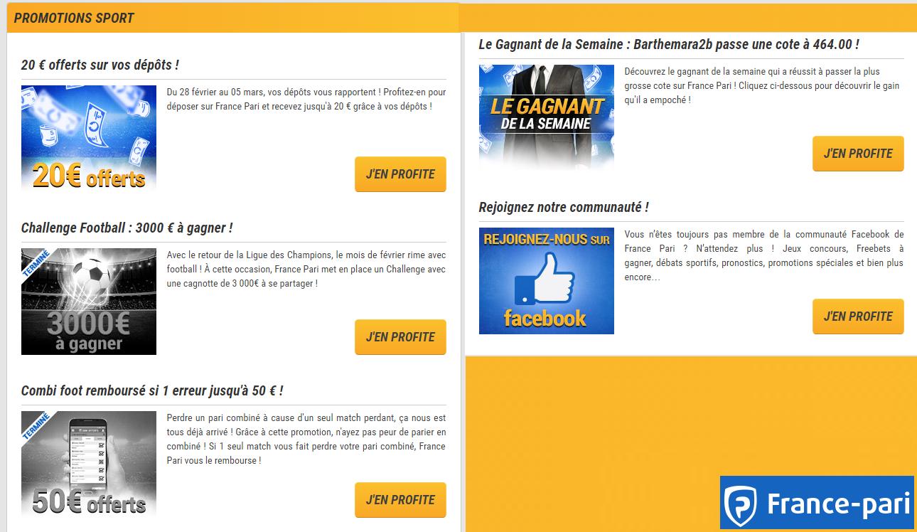 Promotions France-Pari