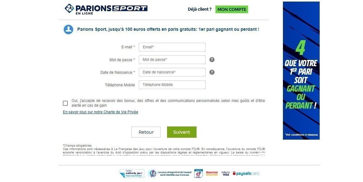 Code Promo Parions Sport en Ligne