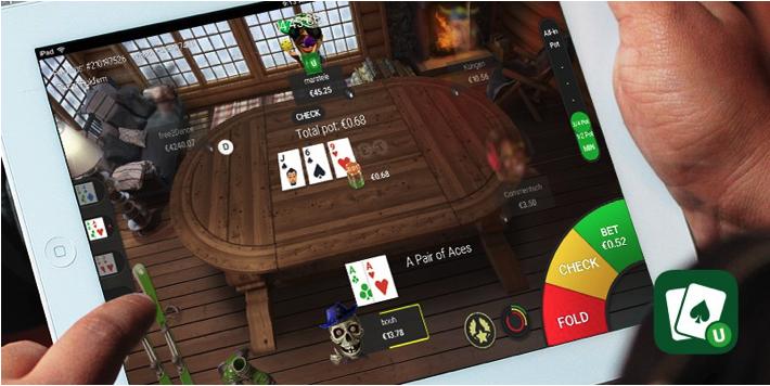 Apps de Poker Unibet