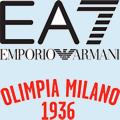 Logo de l'équipe EA7 Emporio Armani Milan